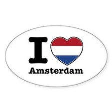 I love Amsterdam Decal