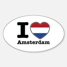 I love Amsterdam Decal