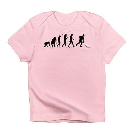 Evolution of Ice Hockey Infant T-Shirt