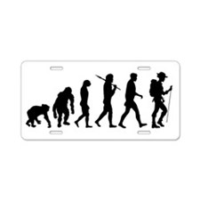 Hiking Backpacking Trail Aluminum License Plate