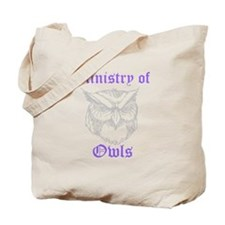 Ministry of Owls Tote Bag