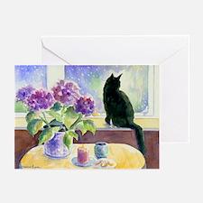 Black Cat Greeting Cards (Pk of 20)