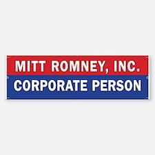 Cute Against romney Sticker (Bumper)