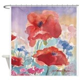 Poppies Shower Curtains