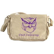 Owl Delivery Messenger Bag