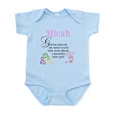 Micah Infant Bodysuit