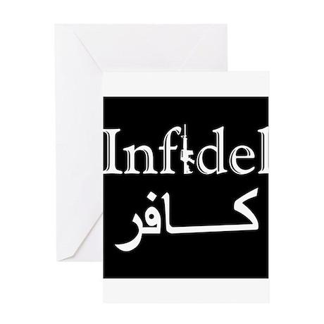 Infidel Greeting Card
