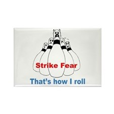Strike Fear Rectangle Magnet