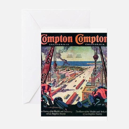 Compton Greeting Card