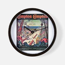 Compton Wall Clock
