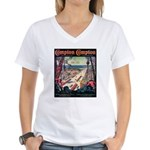 Compton Women's V-Neck T-Shirt