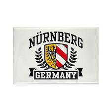 Nurnberg Germany Rectangle Magnet