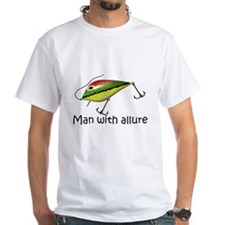 Man with allure T-shirts and gifts. T-Shirt