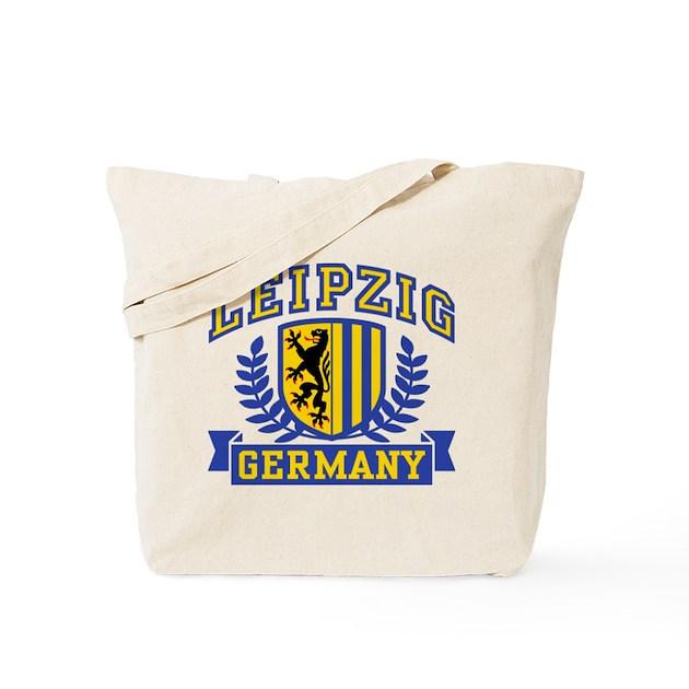 leipzig germany tote bag by totaletees. Black Bedroom Furniture Sets. Home Design Ideas