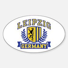 Leipzig Germany Sticker (Oval)