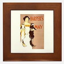 Harper's May Framed Tile