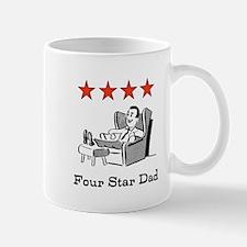 Four Star Dad Mug