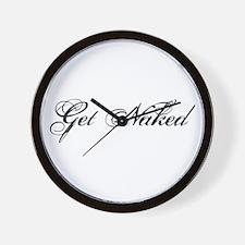 Get naked Wall Clock