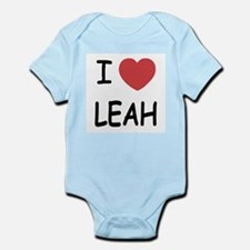 I heart leah Infant Bodysuit