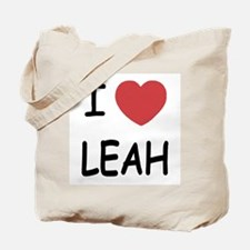 I heart leah Tote Bag