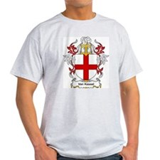 Van Kessel Coat of Arms Ash Grey T-Shirt