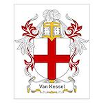 Van Kessel Coat of Arms Small Poster