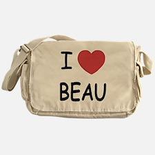 I heart beau Messenger Bag