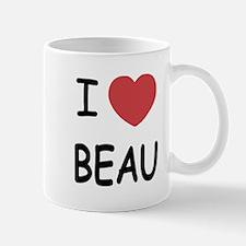 I heart beau Mug