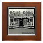 Rowe Drug Framed Tile