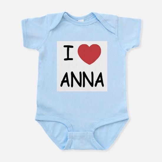 I heart anna Infant Bodysuit
