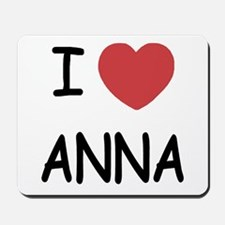 I heart anna Mousepad