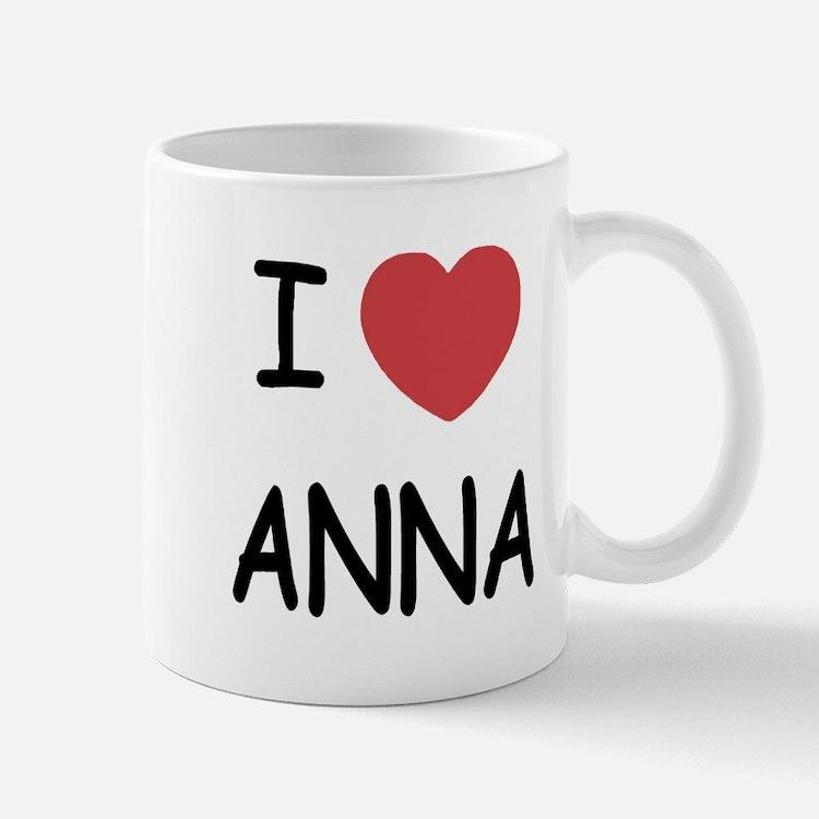 I heart anna Small Small Mug