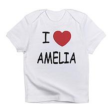 I heart amelia Infant T-Shirt