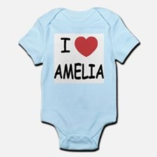 I heart amelia Infant Bodysuit