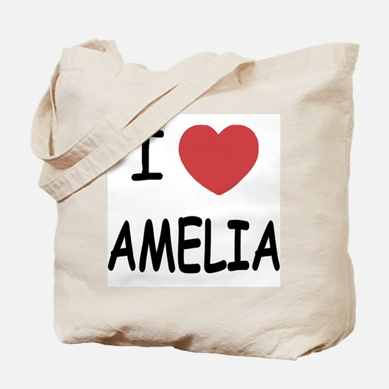I heart amelia Tote Bag