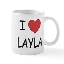 I heart layla Mug