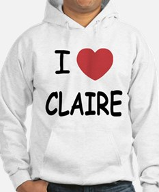 I heart claire Hoodie