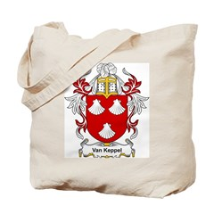 Van Keppel Coat of Arms Tote Bag