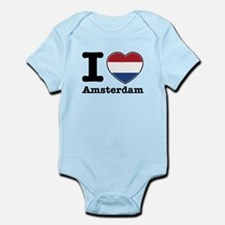 I love Amsterdam Infant Bodysuit