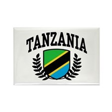 Tanzania Rectangle Magnet