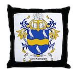Van Kempen Coat of Arms Throw Pillow