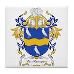 Van Kempen Coat of Arms Tile Coaster