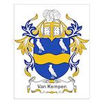 Van Kempen Coat of Arms Small Poster
