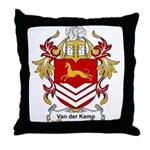 Van der Kemp Coat of Arms Throw Pillow