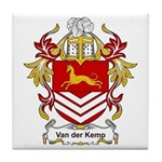 Van der Kemp Coat of Arms Tile Coaster