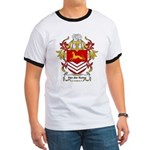 Van der Kemp Coat of Arms Ringer T