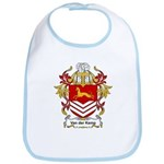 Van der Kemp Coat of Arms Bib