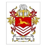 Van der Kemp Coat of Arms Small Poster