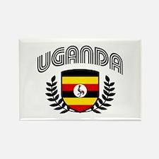 Uganda Rectangle Magnet