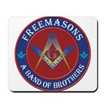 Freemasons. A Band of Brothers Mousepad